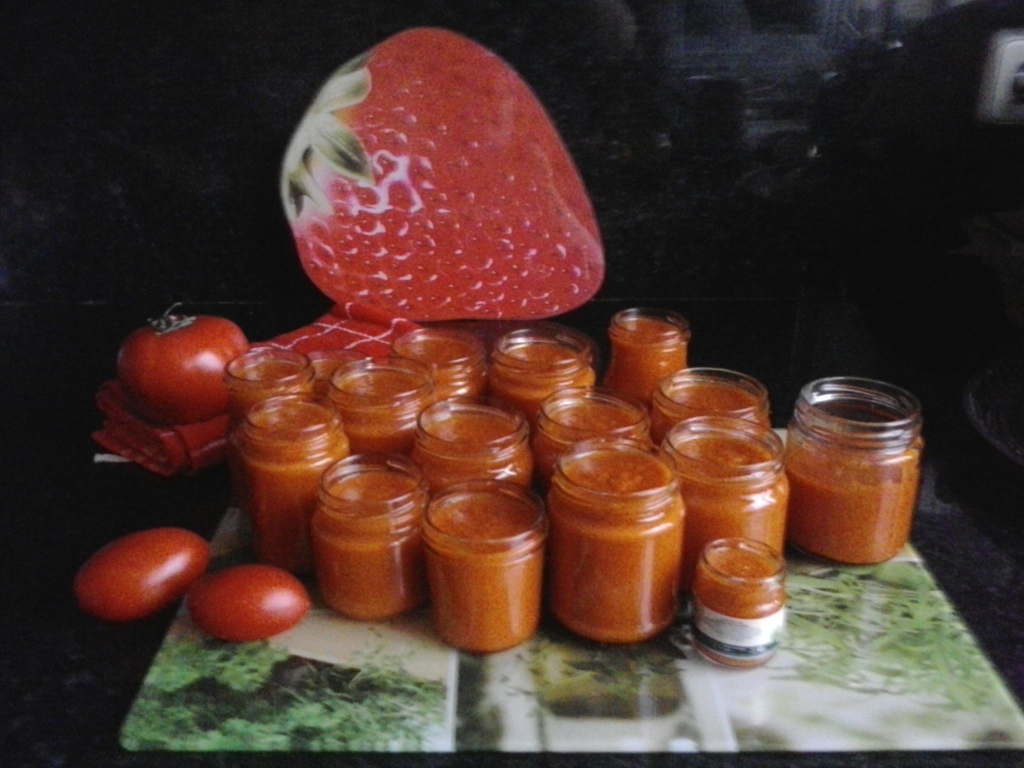 Sofrito de tomate y cebolla