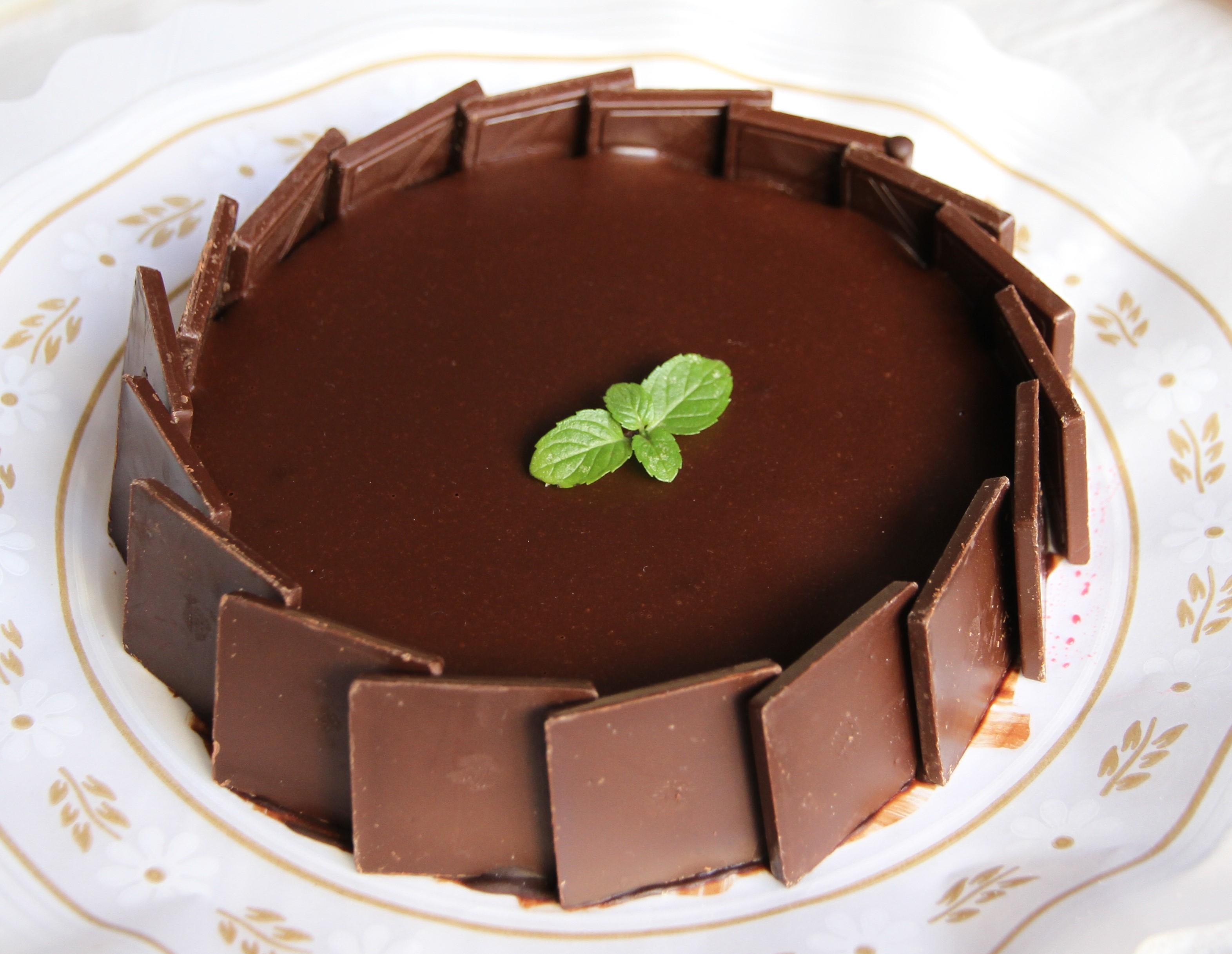 Pastel de chocolatinas
