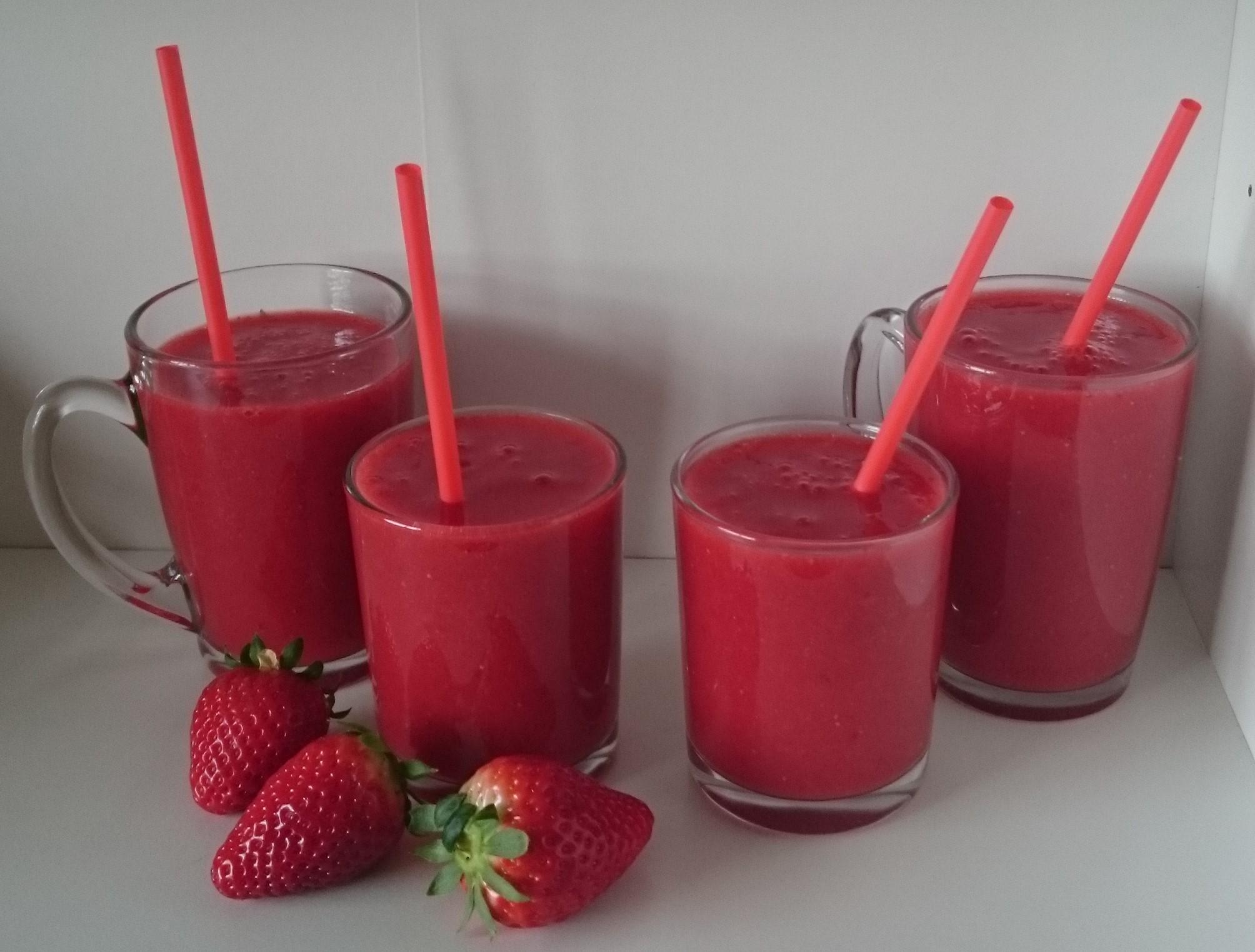 Refresco de fresas