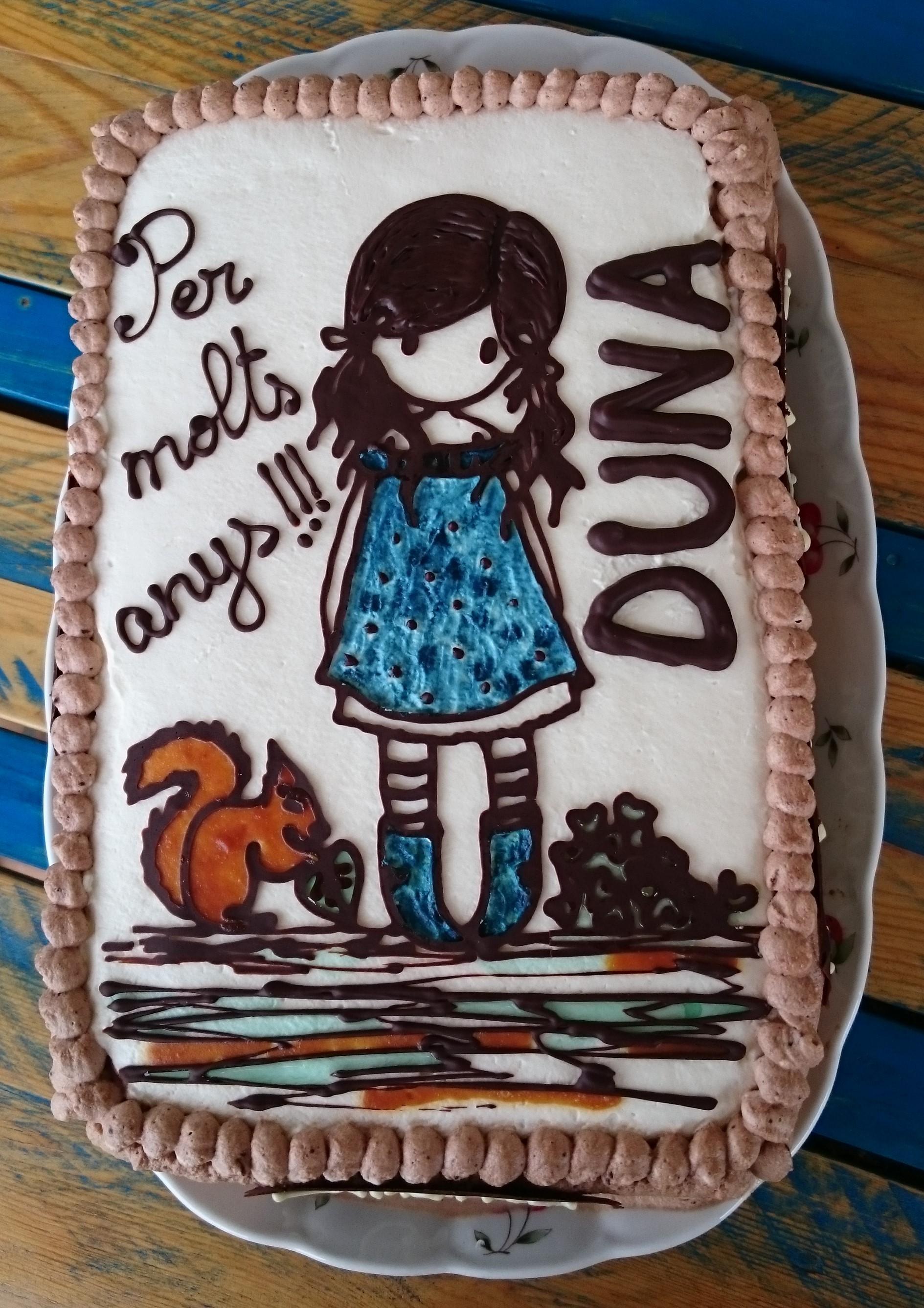 Pastel muñeca Gorjuss